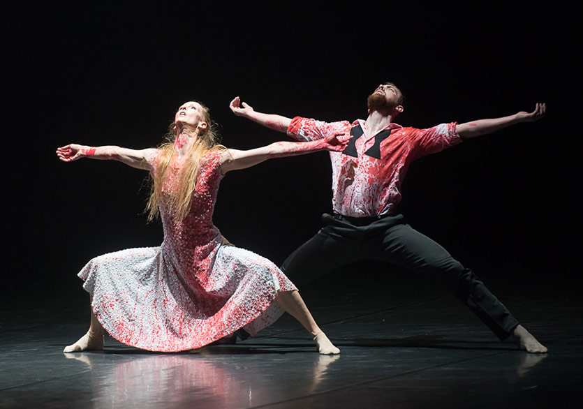 imPerfect Dancers Company Lady Macbeth ile Türkiye'de