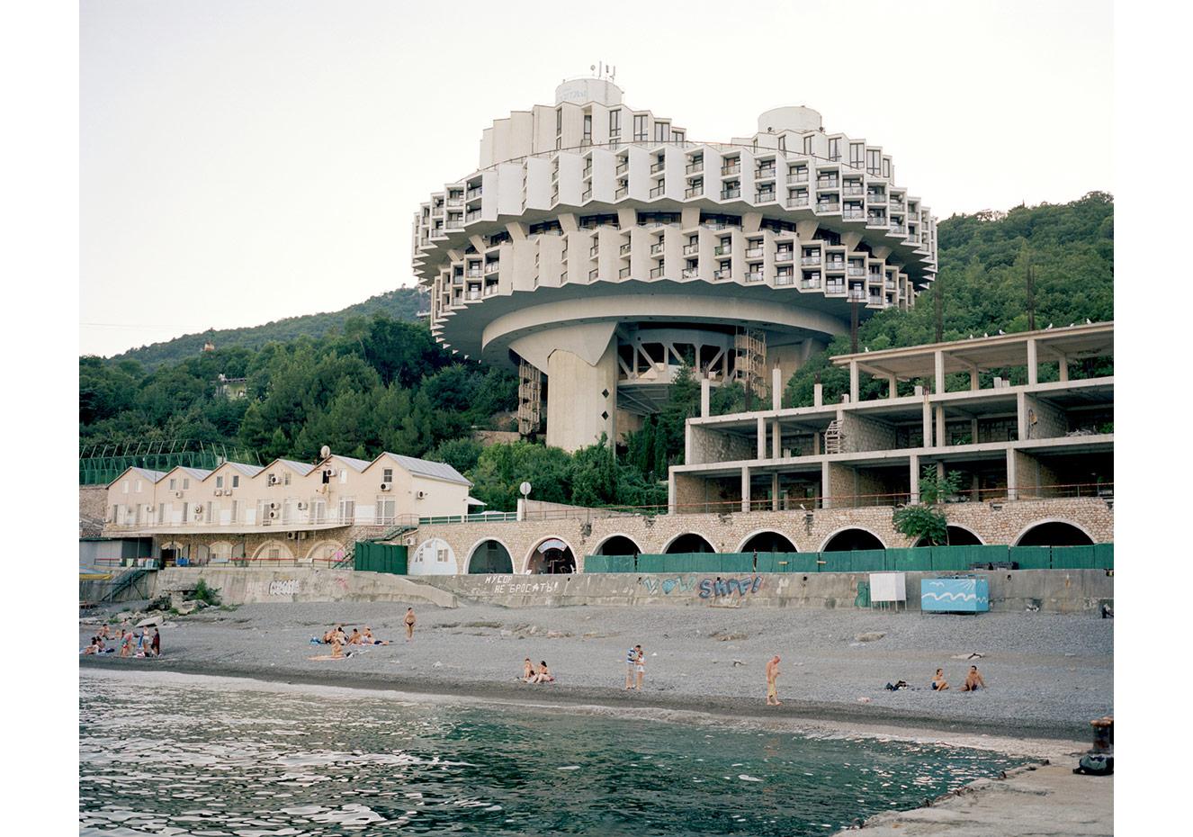 Kurpaty Sanatoryumu, Yalta, Kırım © Mathias Depardon