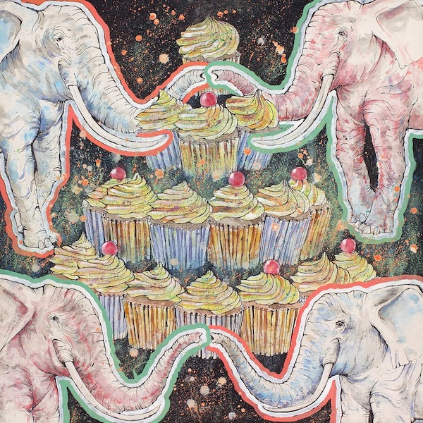 Elephant and Cupcakes
