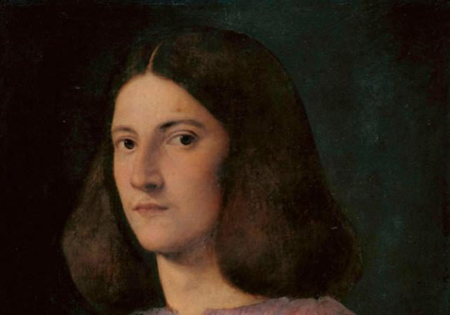'Portrait of a Young Man (Giustiniani Portrait)' by Giorgione, 1497-99 (detail) CREDIT:JÖRG P. ANDERS