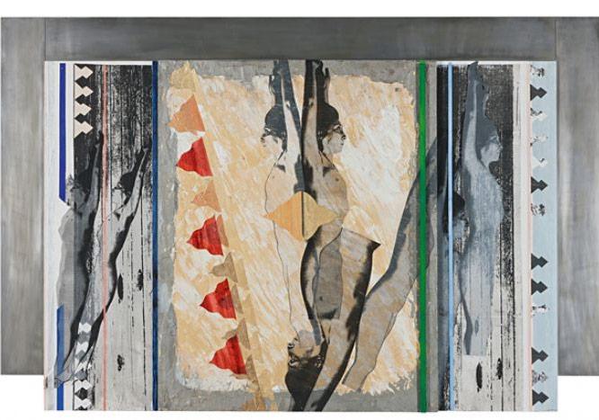 """İpek Duben, """"2012 #4 """"2012, Karışık Teknik, 114.50 x176cm"""