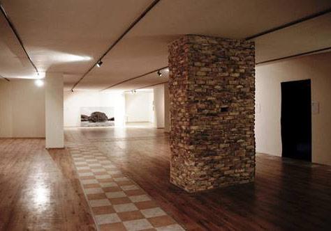 Tunca Subaşıİsimsiz, 2014Ateş tuğlaları400 x 150 cm4. Uluslararası Çanakkale Bienali, 2014, Yerleştirme görseli