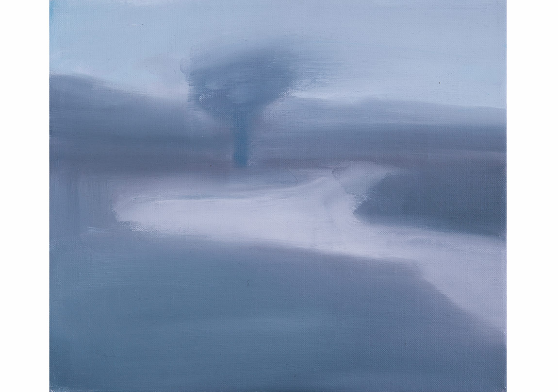 Aret Gıcır, Between Fire and Sword 16, 2015, Oil on Canvas, 30x35cm