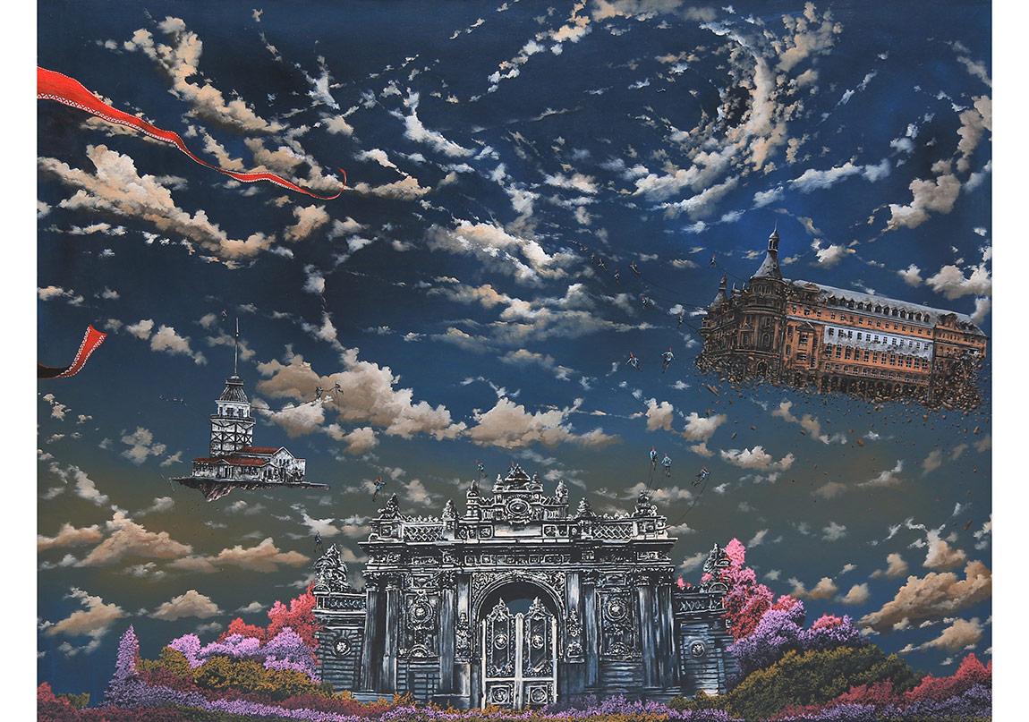 Serdar Akkılıç ''Farewell'' 150x200cm/acrylic on canvas/2016