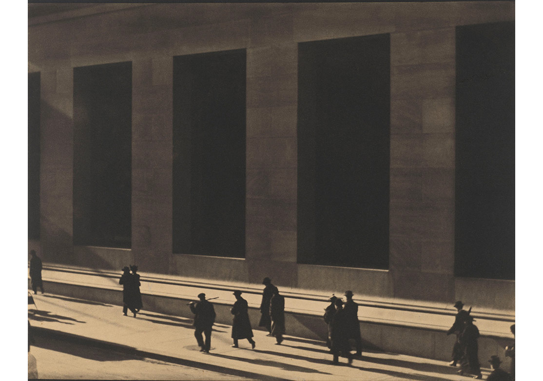 Wall Street, New York, 1915, Paul Strand © Paul Strand Archive, Aperture Foundation