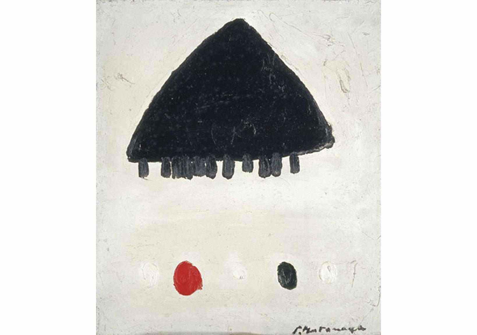 Motonaga Sadamasa, İş, 1957. t.ü.y.b., 53 × 45.3 cm.
