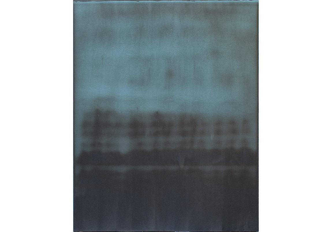 Nejat Satı, Strüktür, Akrilik boya – Jel – Karışık Teknik / Acrylic – Jell Medium – Mixed Media, 120x150cm, 2015