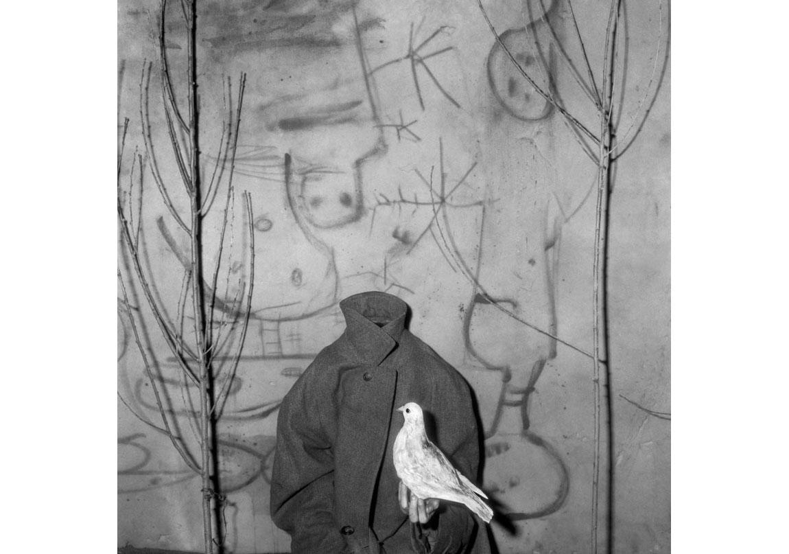 Take off, 2012, Arşivsel pigment baskı, 90x90 cm, Ed.5 © Roger Ballen, Galerie Karsten Greve Köln, Paris, St Moritz izniyle