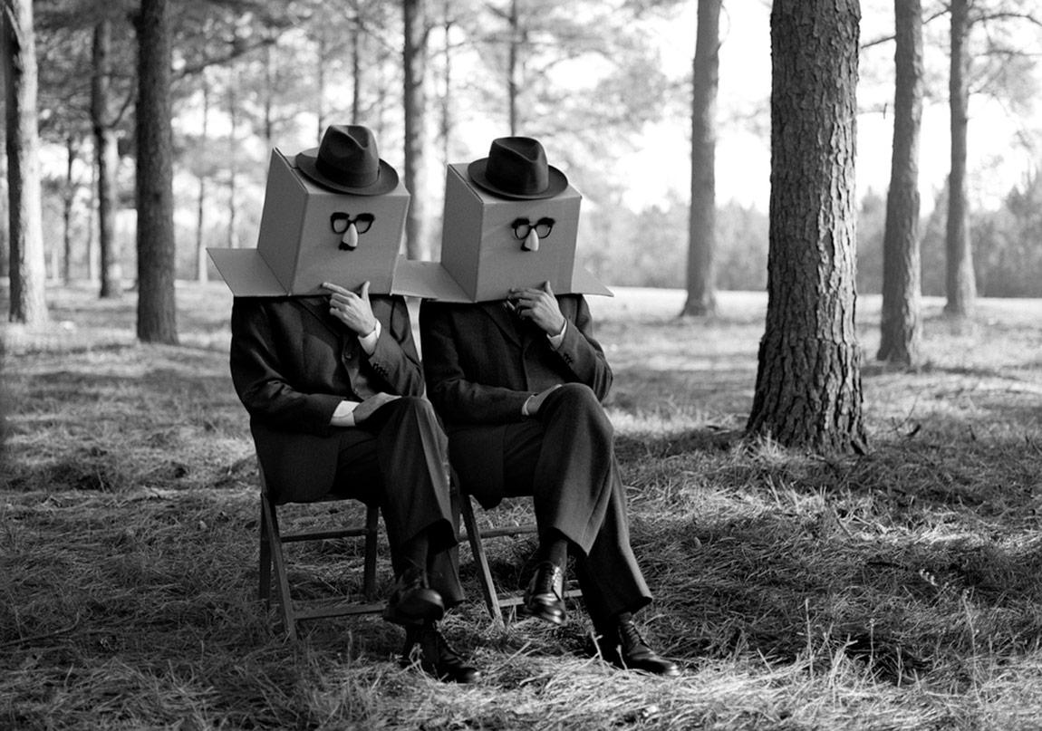 1940'ların Sinematik Havası Fotoğraflarda