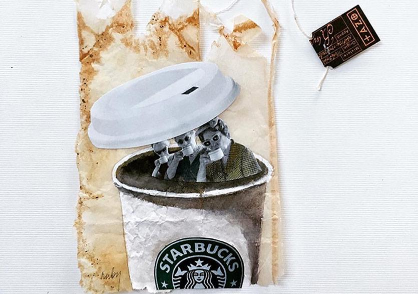 Çay Poşetlerini Çöpe Atmayınız!