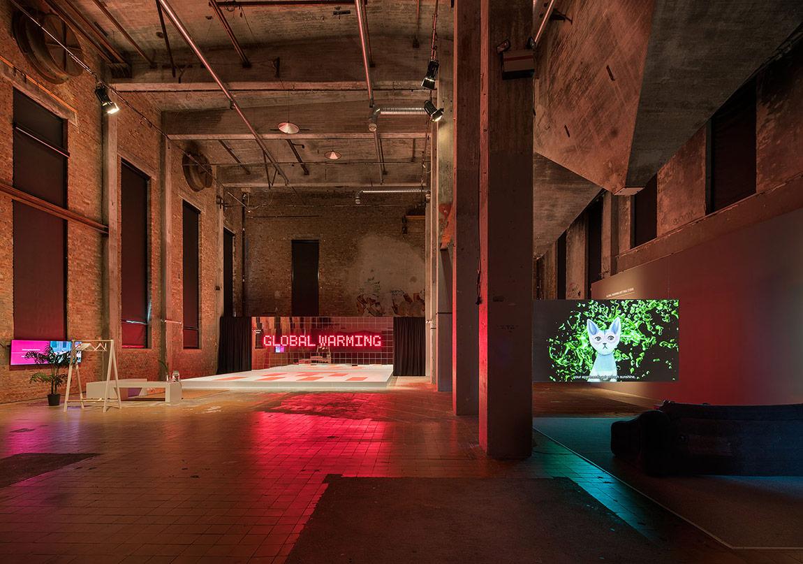 Pinar Yoldas - Global Warming Hot Yoga Studio, Röda Sten Konsthall, Göteborg