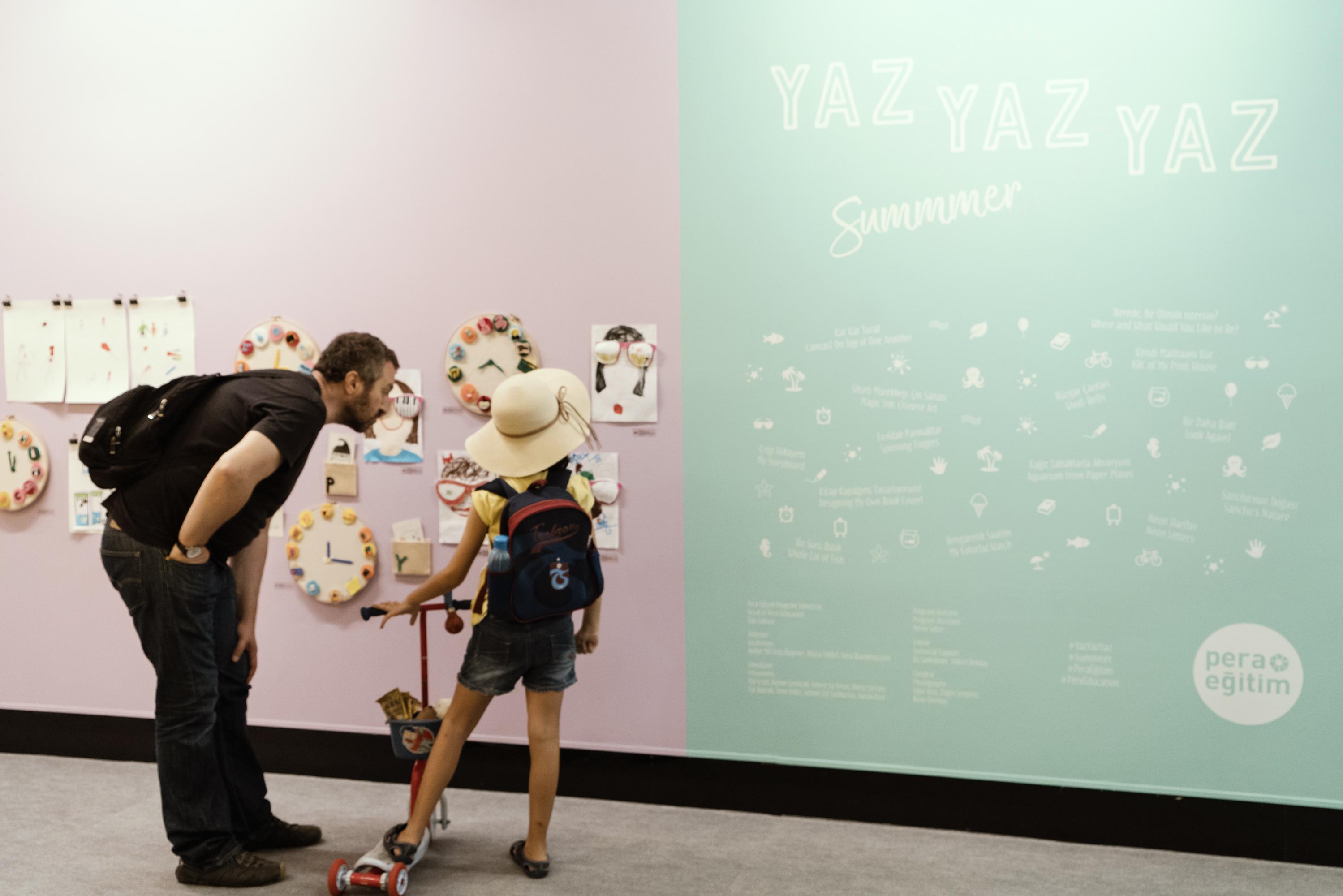 """Pera Müzesi'nde Çocukların Sergisi: """"Yaz Yaz Yaz"""""""