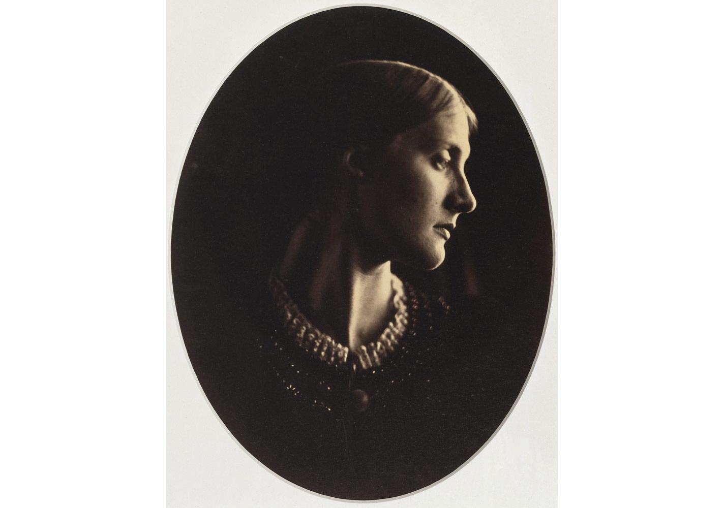 Julia Margaret Cameron (1815-1879), Mrs Herbert Duckworth, 12 Nisan 1867 © Bibliothèque nationale de France, Paris