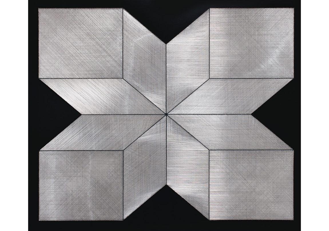 Gülay Semercioğlu, Silver Cube, 150x180 cm, 2014