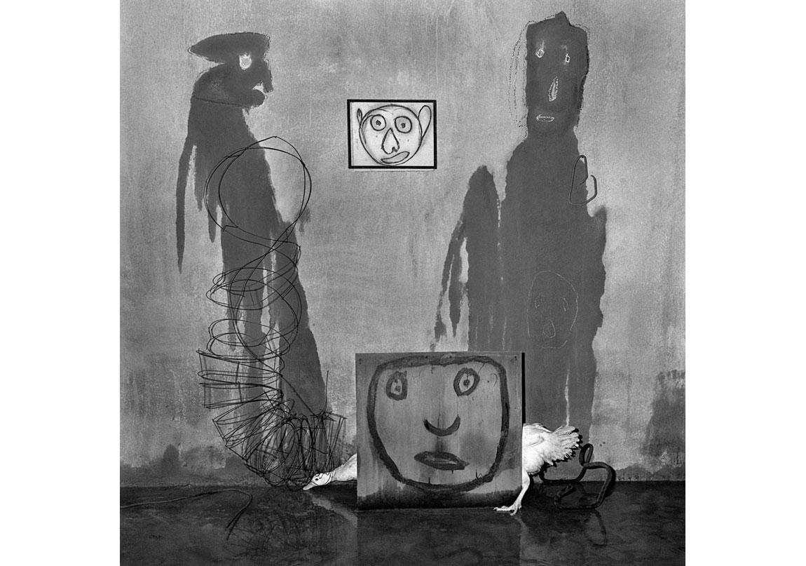 Malicious, 2012, Arşivsel pigment baskı, 90x90 cm, Ed.5 © Roger Ballen, Galerie Karsten Greve Köln, Paris, St Moritz izniyle