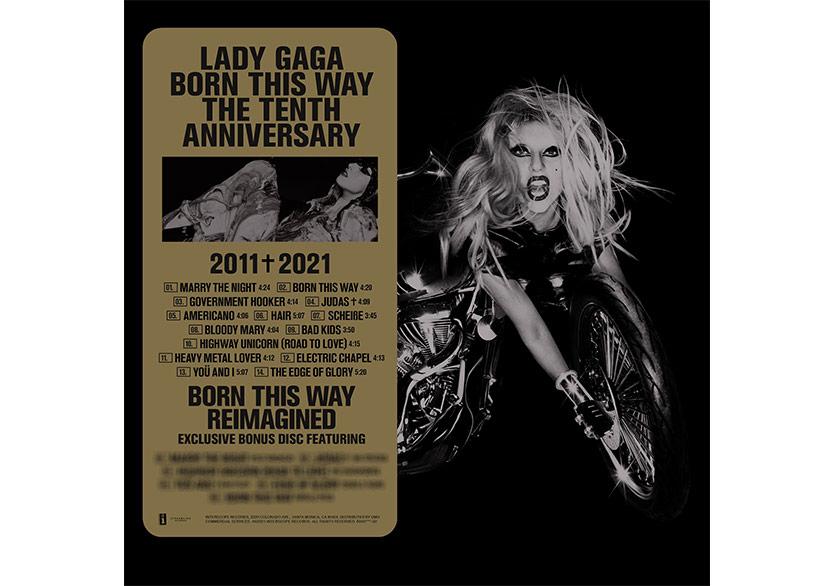 "Lady Gaga'dan Özel Albüm ""Born This Way The Tenth Year Anniversary"""