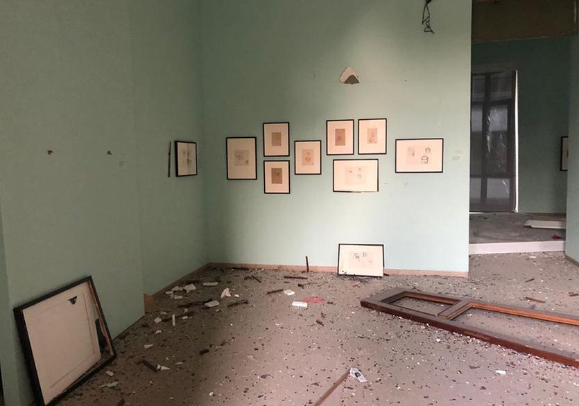 Beyrut'taki Patlama Birçok Sanat Kurumunu Da Vurdu