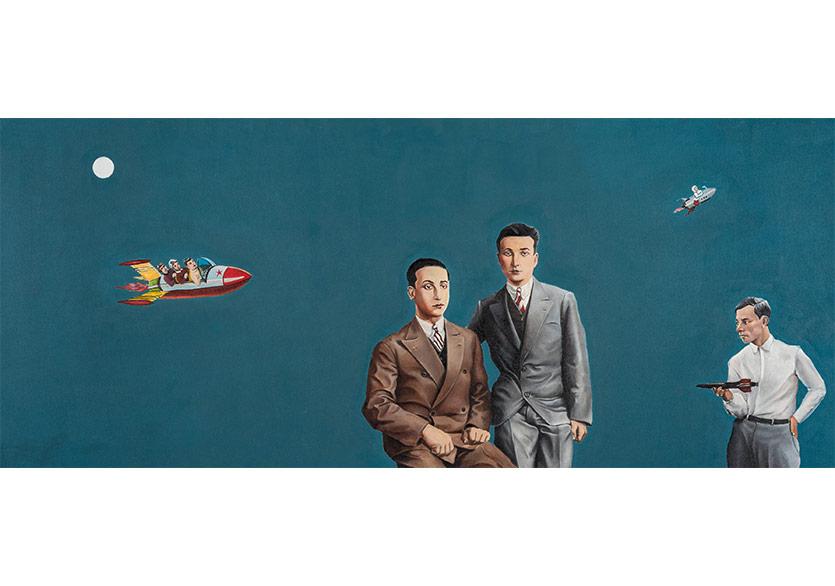 """Murat Şahinler'in """"Kendini Bilmeyen Resim"""" Sergisi Pilot Galeri'de"""