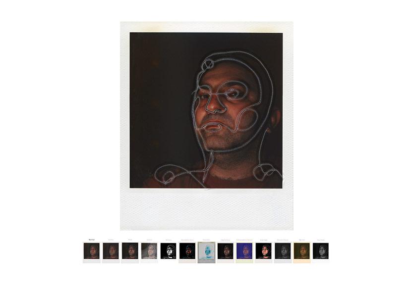 Otopsi, 2000C-print pleksi, 120x120 cm, Ed.1/1 C-print on plexiglass, 120x120 cm, Ed.1/1