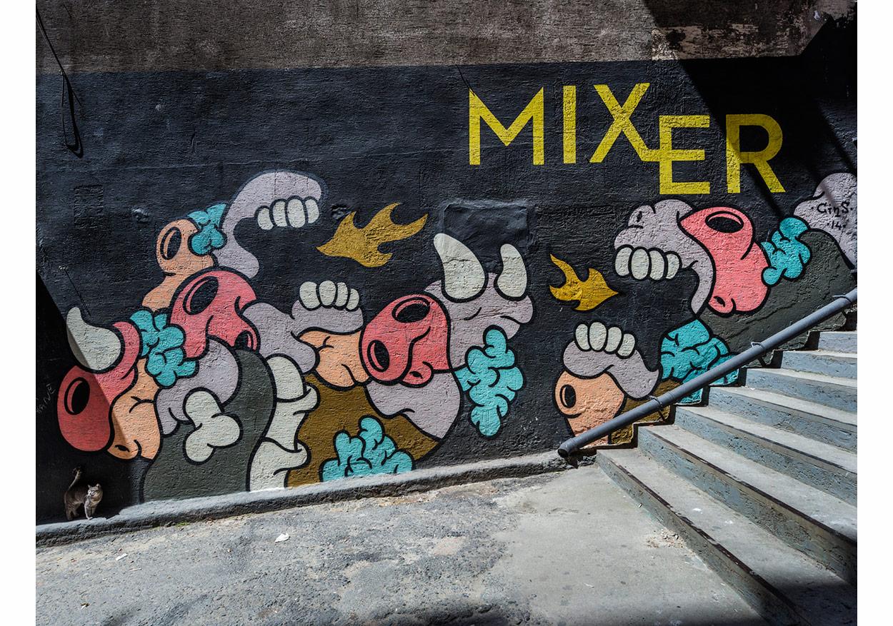 Mixer genel görüntü