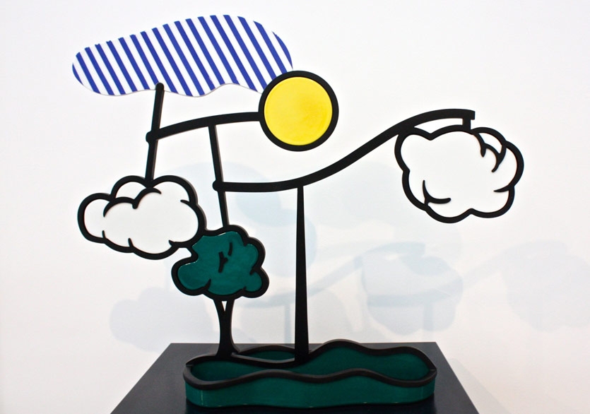 Roy Lichtenstein, Landscape Mobile (Limoges), 1990