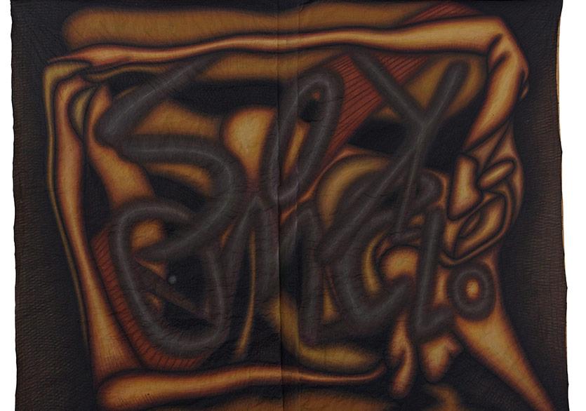 GÜÇLÜ ÖZTEKİNŞokomelo, 2017Kraft kağıdı üzerine akrilik67 1/4 x 78 5/8 in. (171 x 200 cm)