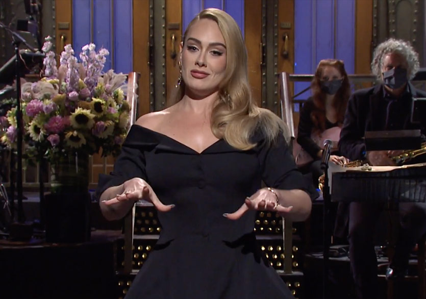 Adele, Saturday Night Live Sunucusu Oldu
