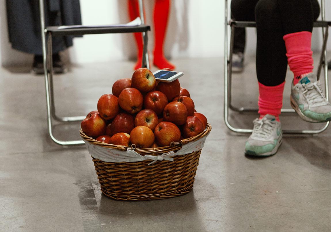 Havva Elmanı Bitir Kızım! performansından©Nazlı Erdemirel