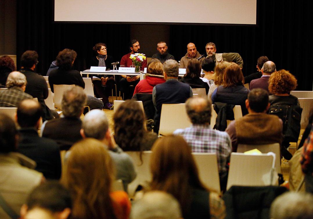 'Toplumsal Olaylarda Belgesel Fotoğraf' panelinden [I. Belgesel Fotoğraf Günleri]