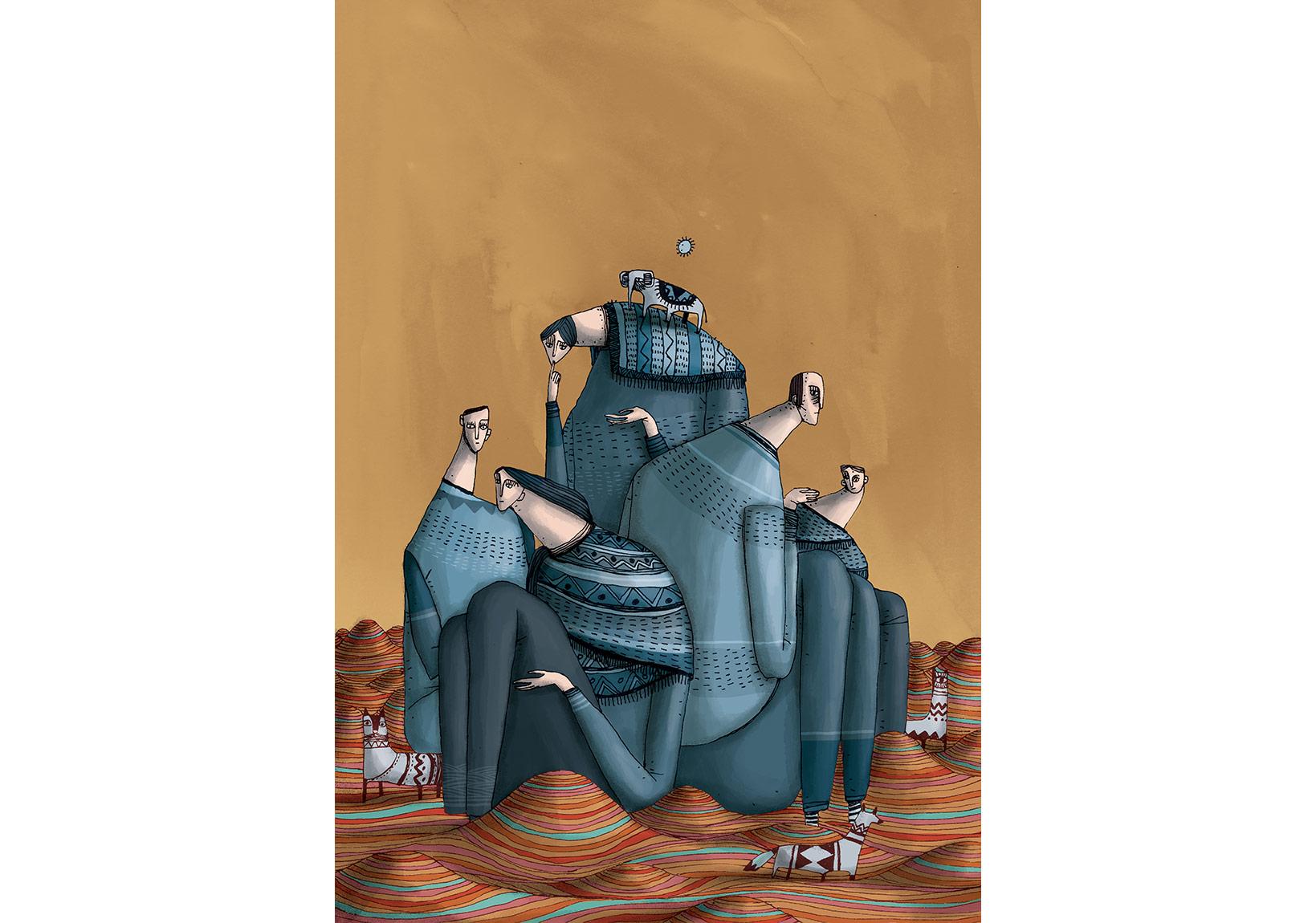 MERT TUGEN, Digitai İş II, 35x50 cm