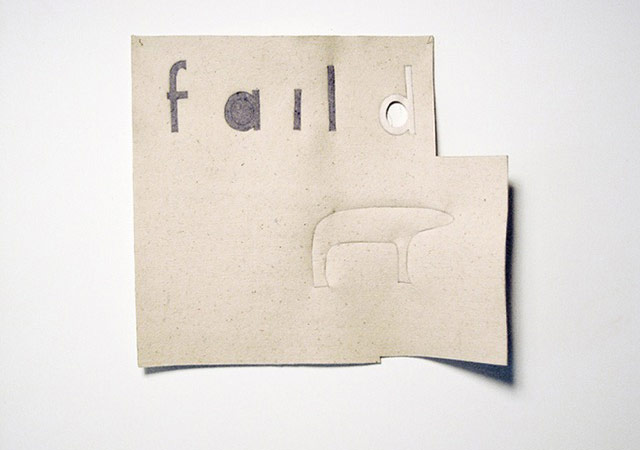 the failed utopian X (fail d), 2014
