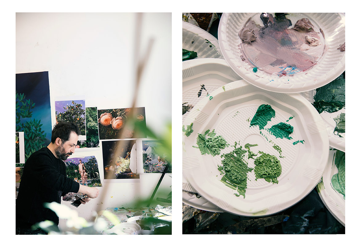 İyilik İçin Sanat Ali Elmacı'yı Ziyaret Etti