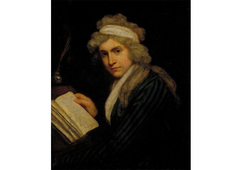 Mary Wollstonecraft (Mrs William Godwin) / c.1790–1 /John Opie/ Tate Modern