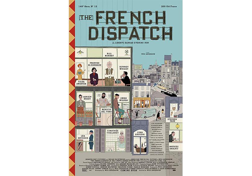The French Dispatch'ten İlk Görseller Yayımlandı