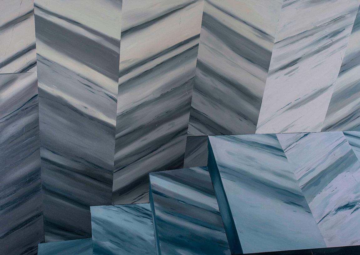 Antonio CosentinoKöşecik, 2016Tuval üzerine yağlı boya, 150x210 cm