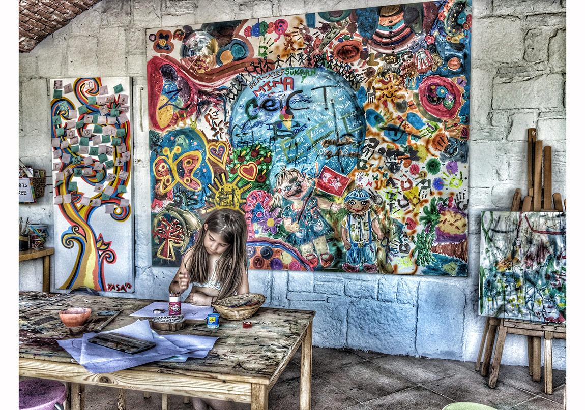 Casa Dell'Arte Oteli çocuk sanat kulübü