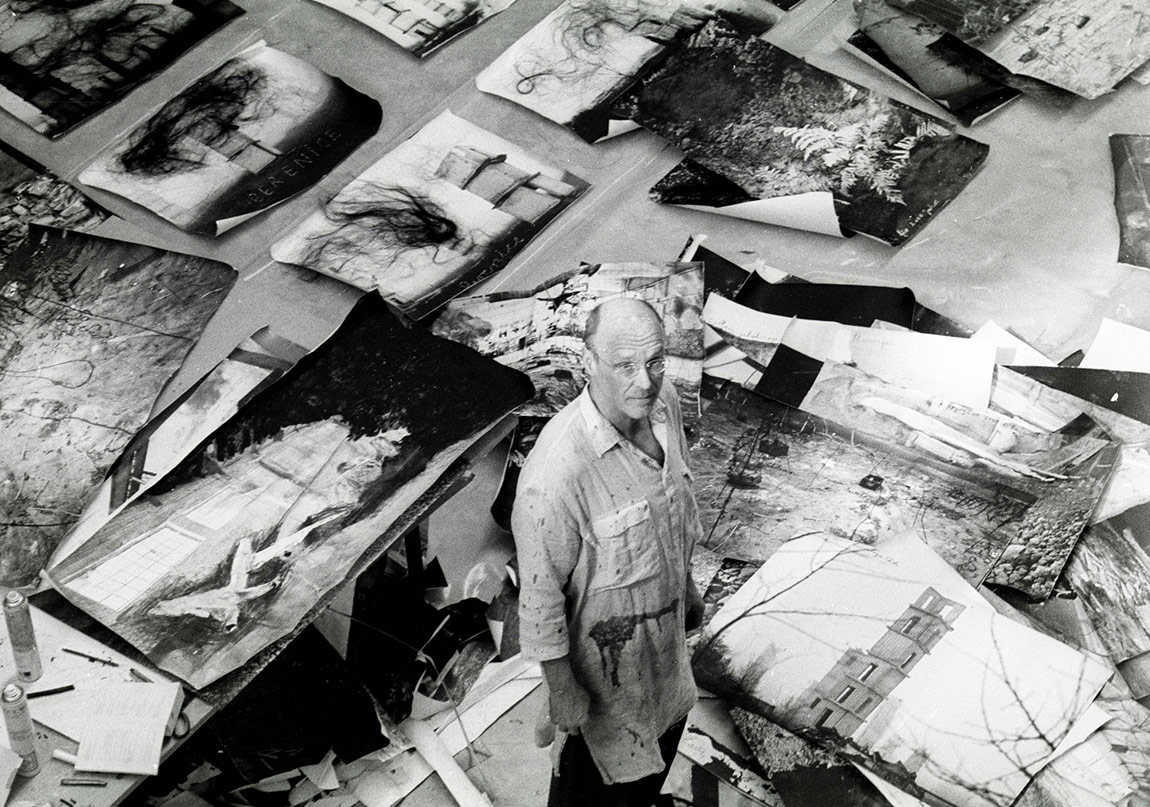 ANSELM KIEFER@Anselm Kiefer Photo Renate Graf