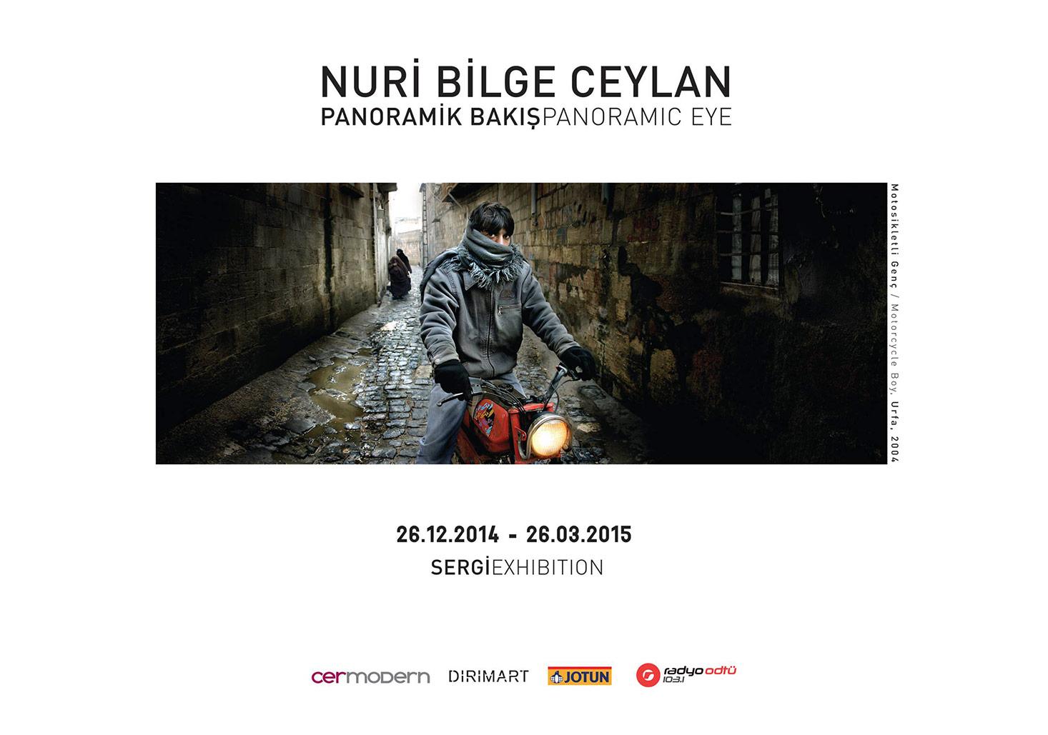 'Panoramik Bakış' sergi afişi