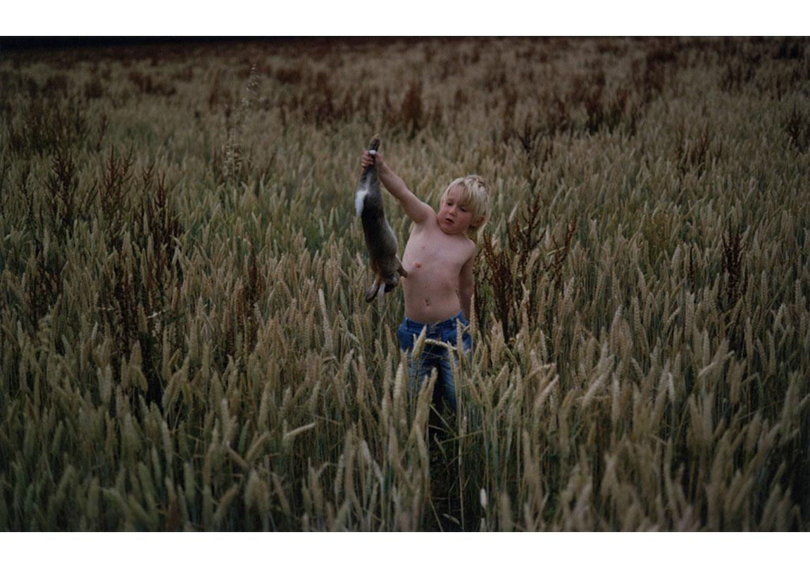 Le premier lapin, 'This place called home' serisinden, 2009 © Matt Wilson, Galerie Les filles du calvaire izniyle