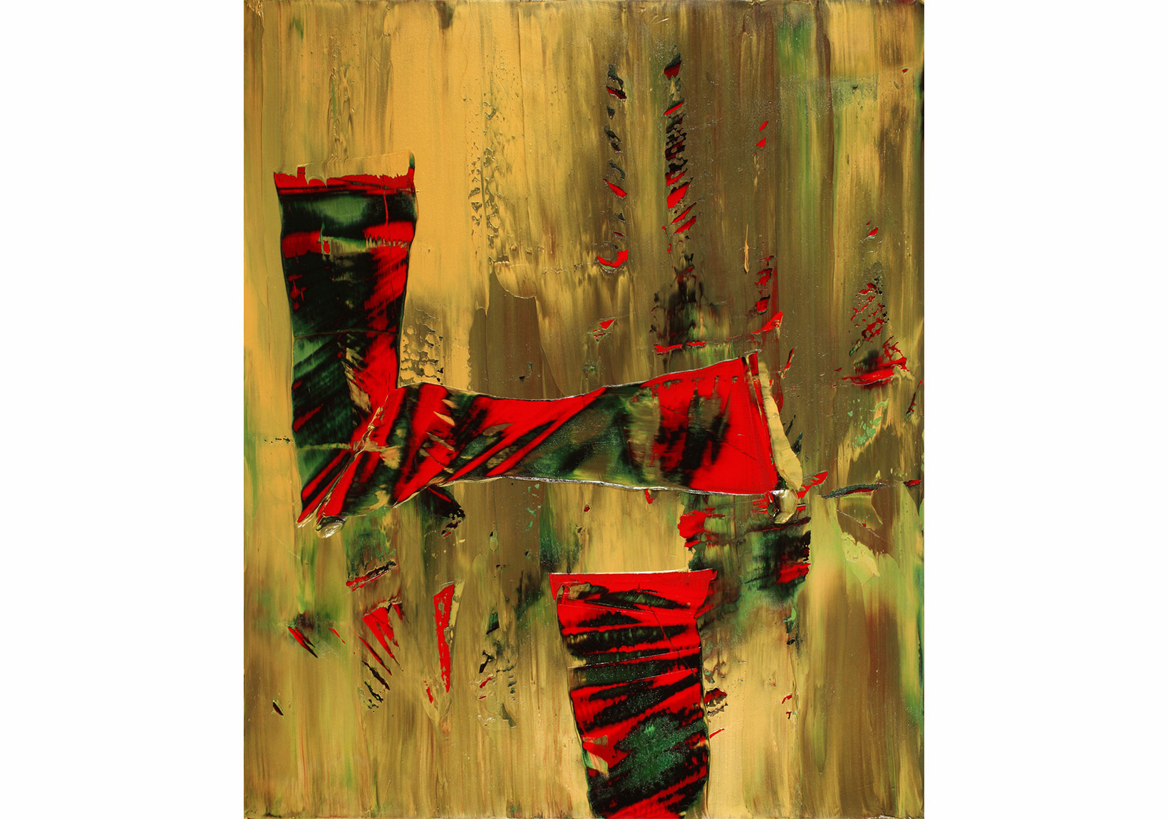 İsimsiz/Untitled, Tuval üzerine yağlıboya/oil on canvas, 120 x 100 cm