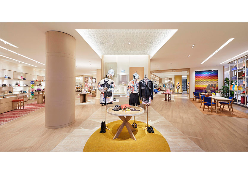 Louis Vuitton Mağazasına Seçkin Pirim Tasarımı