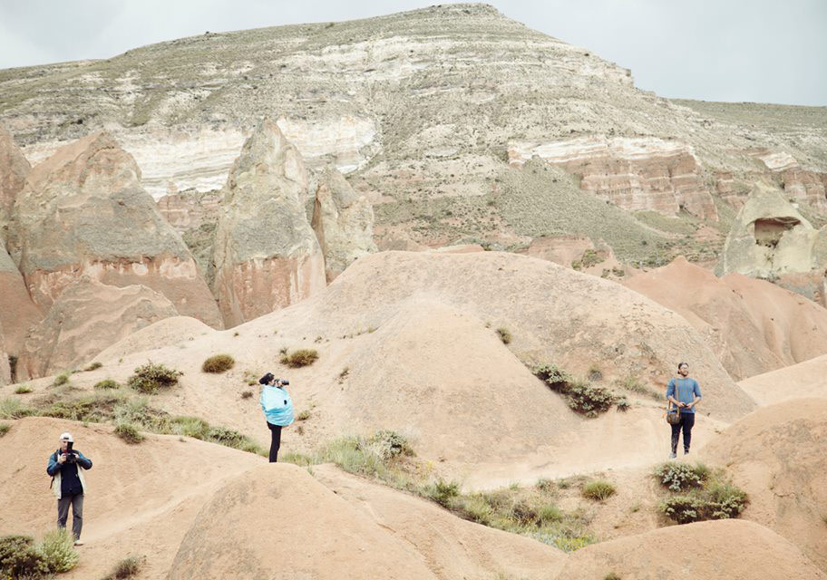 Fotoğrafçı Ahmet Özyurt'la Gül Vadisi'nde trekkingFotoğraf: Júlia Soler
