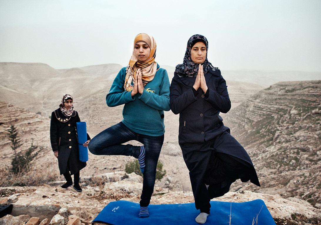 Tanya Habjouqa, 'İşgal Edilmiş Zevkler' serisinden