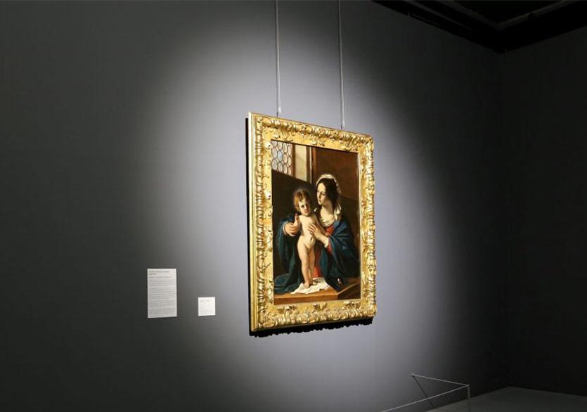 Guercino -Madonna con Bambino benedicente 1920x580