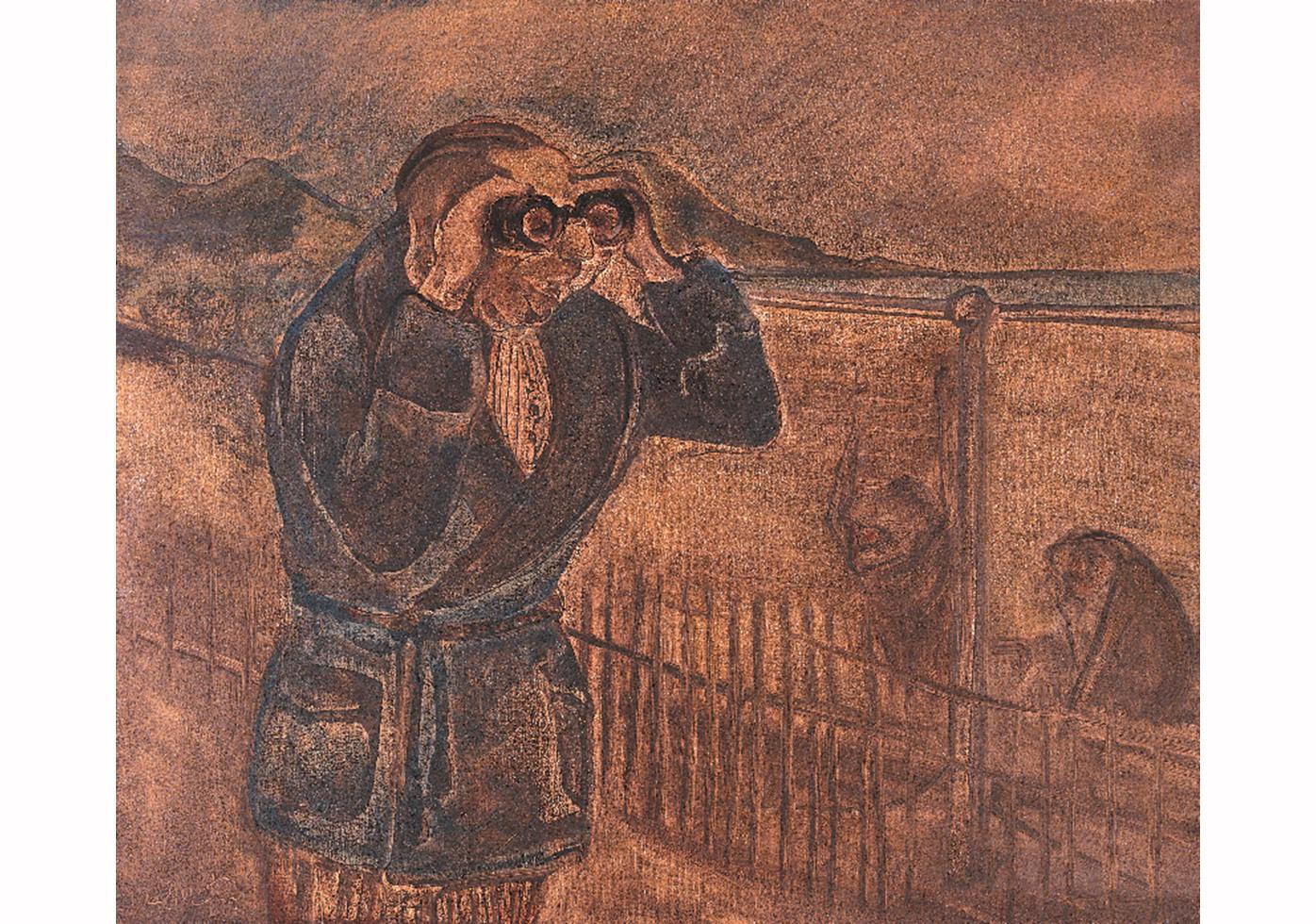 Babam,Tuval üzerine yağlıboya,60 x 70 cm,Sanatçı Koleksiyonu