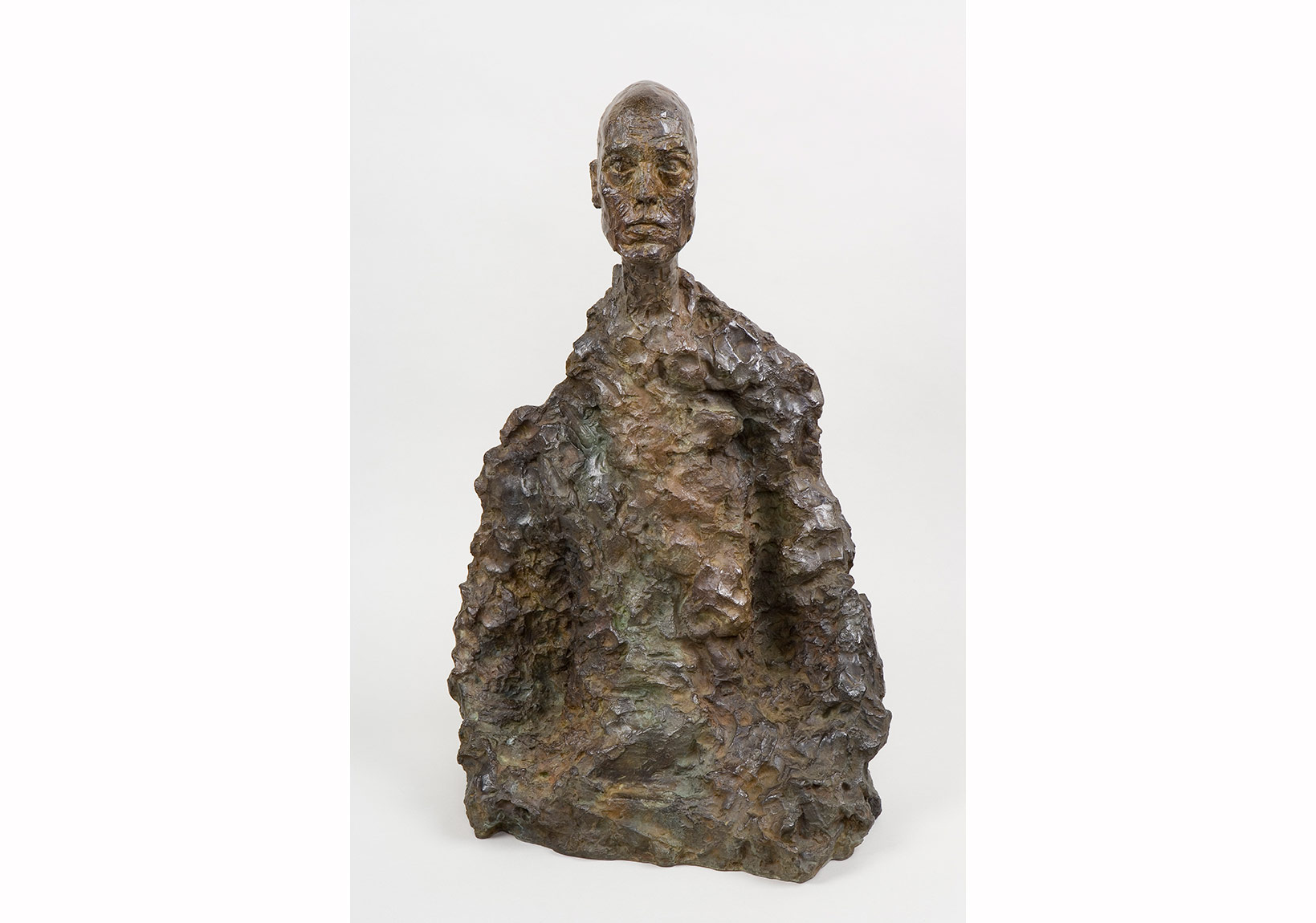 Alberto Giacometti, Erkek Büstü (Lotar II), yak. 1964 1965 Bust of a Man (Lotar II), c. 1964-1965 Bronz / Bronze 57,8 x 38,2 x 25 cm Giacometti Vakfı Koleksiyonu, Paris, env. 1994-0079 / Giacometti Foundation Collection, Paris, inv. 1994-0079 © Estate Giacometti (Fondation Giacometti + ADAGP) Paris, 2015