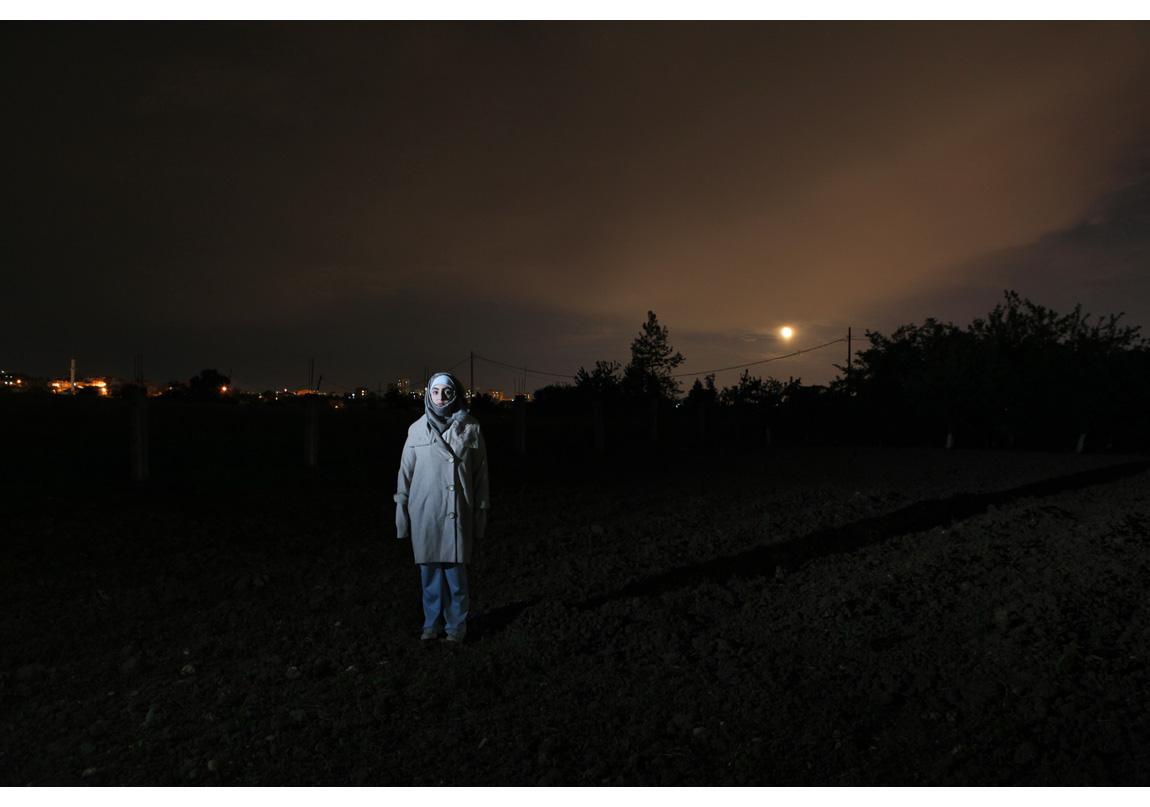 Sabiha Çimen, 'Kent Mültecileri' serisinden