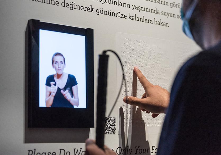 """Sakıp Sabancı Müzesi'nden Erişilebilir Bir Sergi """"Dün Bugün İstanbul"""""""