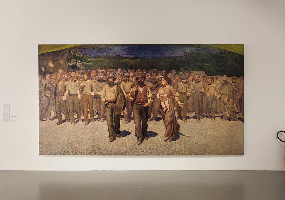 II Quoarto Stato (Dördüncü Kuvvet/ The Fourth Estate), 1901-2015 Tuval Üzerine yağlı boya/ Oil on canvas, Taner Ceylan Aracılığıyla/Medium Taner Ceylan, photo by Sahir Uğur Eren