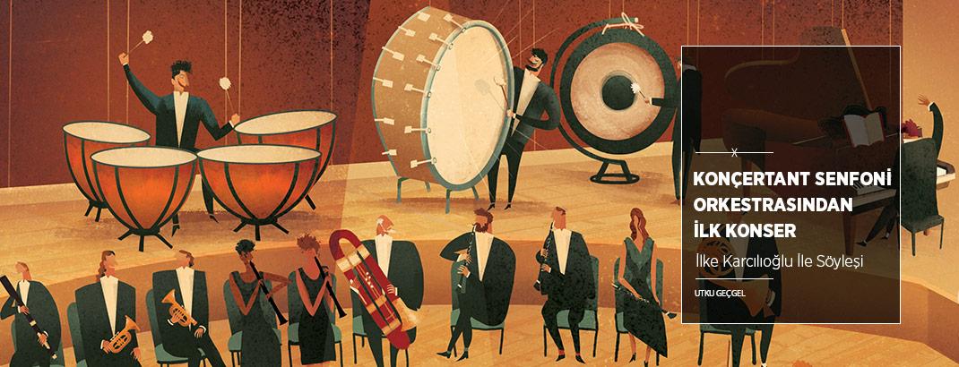 Konçertant Senfoni Orkestrası'ndan İlk Konser